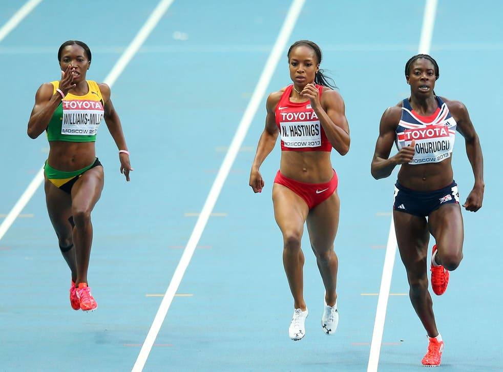 Christine Ohuruogu looked hugely impressive in breezing into the 400 metres final, winning in a season's best time of 49.75 seconds