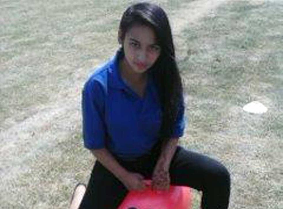 13 year old Erika Kacicova who has been missing since about 4pm on Monday 5 August