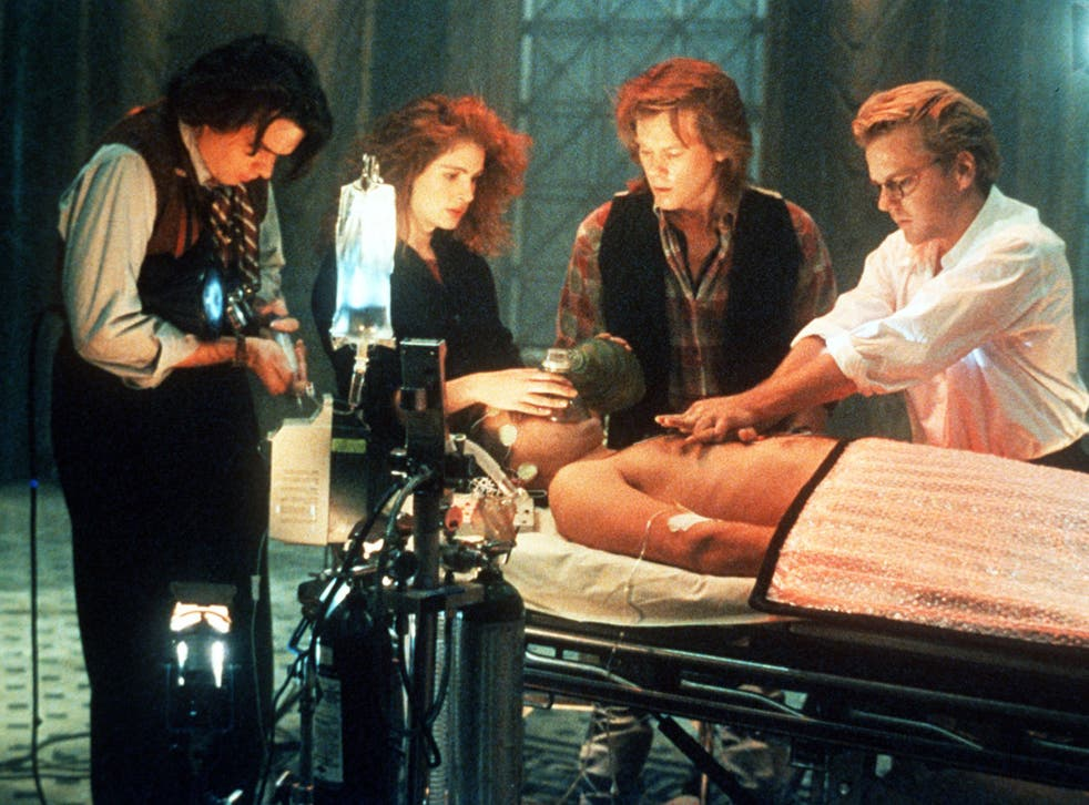 The topic of near death experiences was explored in the film Flatliners