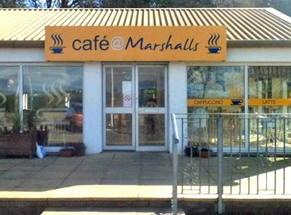 Cafe @ Marshalls was the unlikely site of a six-hour siege