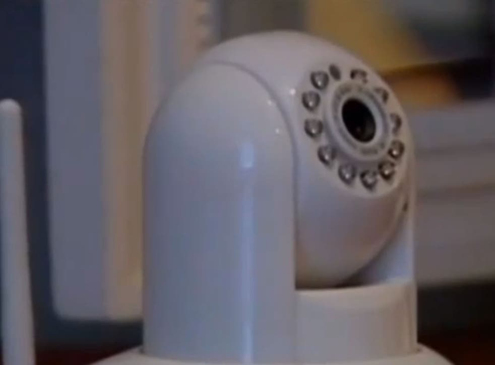 A Texas couple was horrified to discover their wireless baby monitor had been hacked by a stranger
