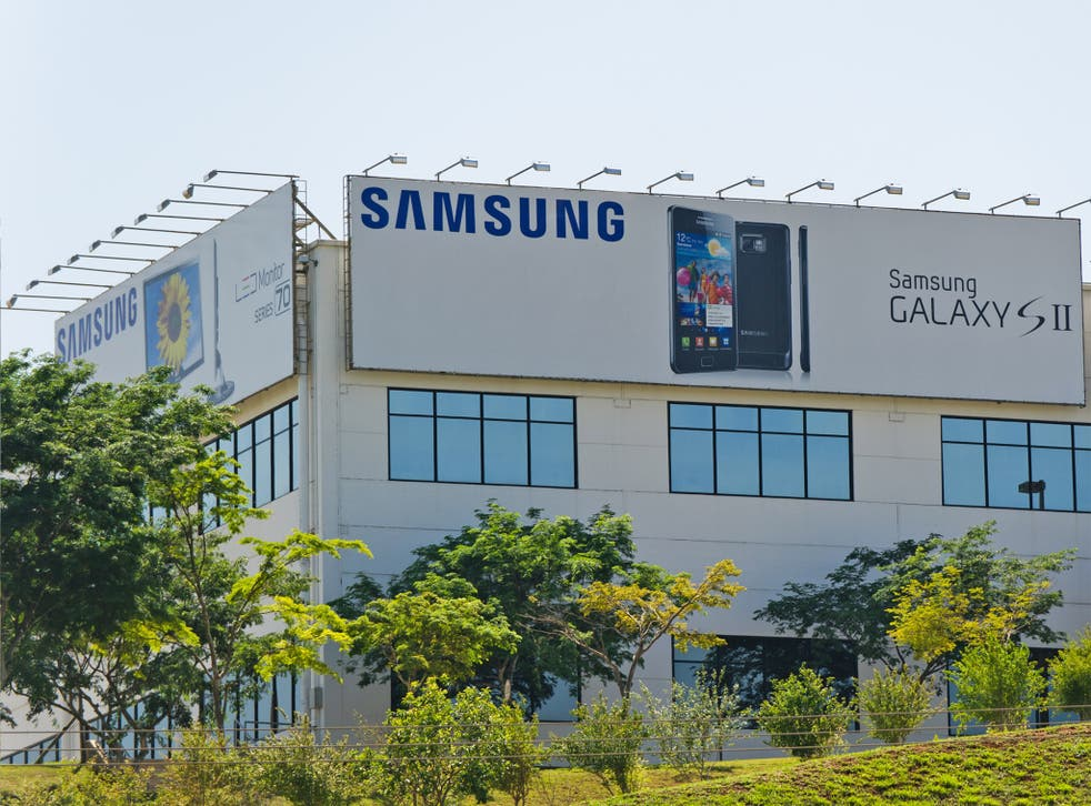 Samsung's factory in Campinas, where staff work to precise rules