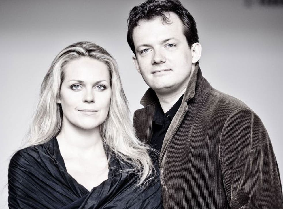 Andris Nelsons and Kristine Opolais