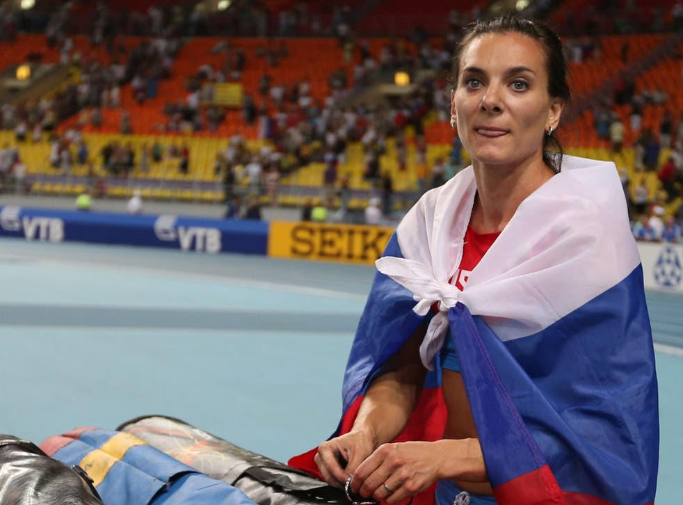 Russian pole vaulter Yelena Isinbayeva says she was misunderstood in her previous comments condemning homosexuality