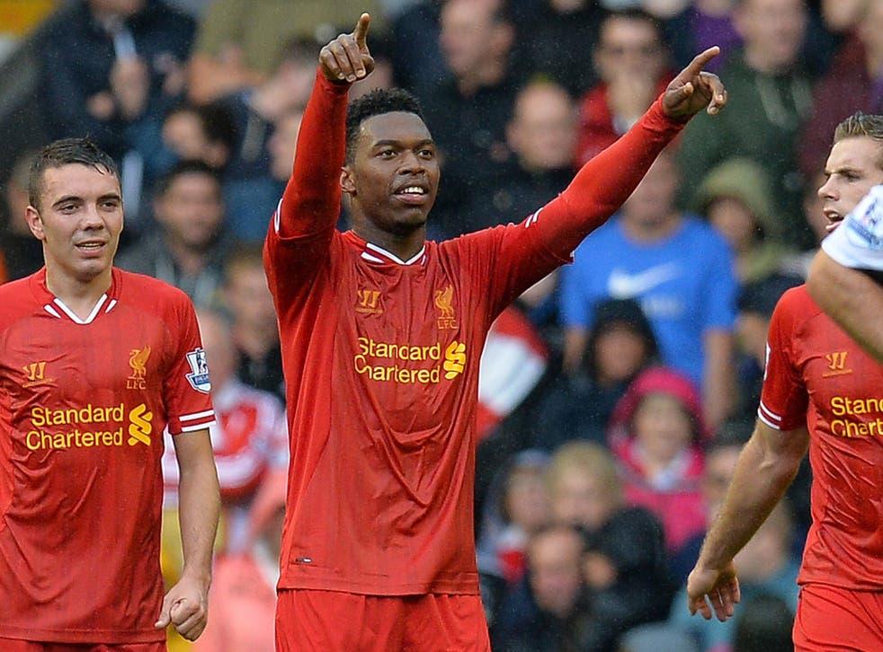 Daniel Sturridge fired Liverpool to victory against Stoke