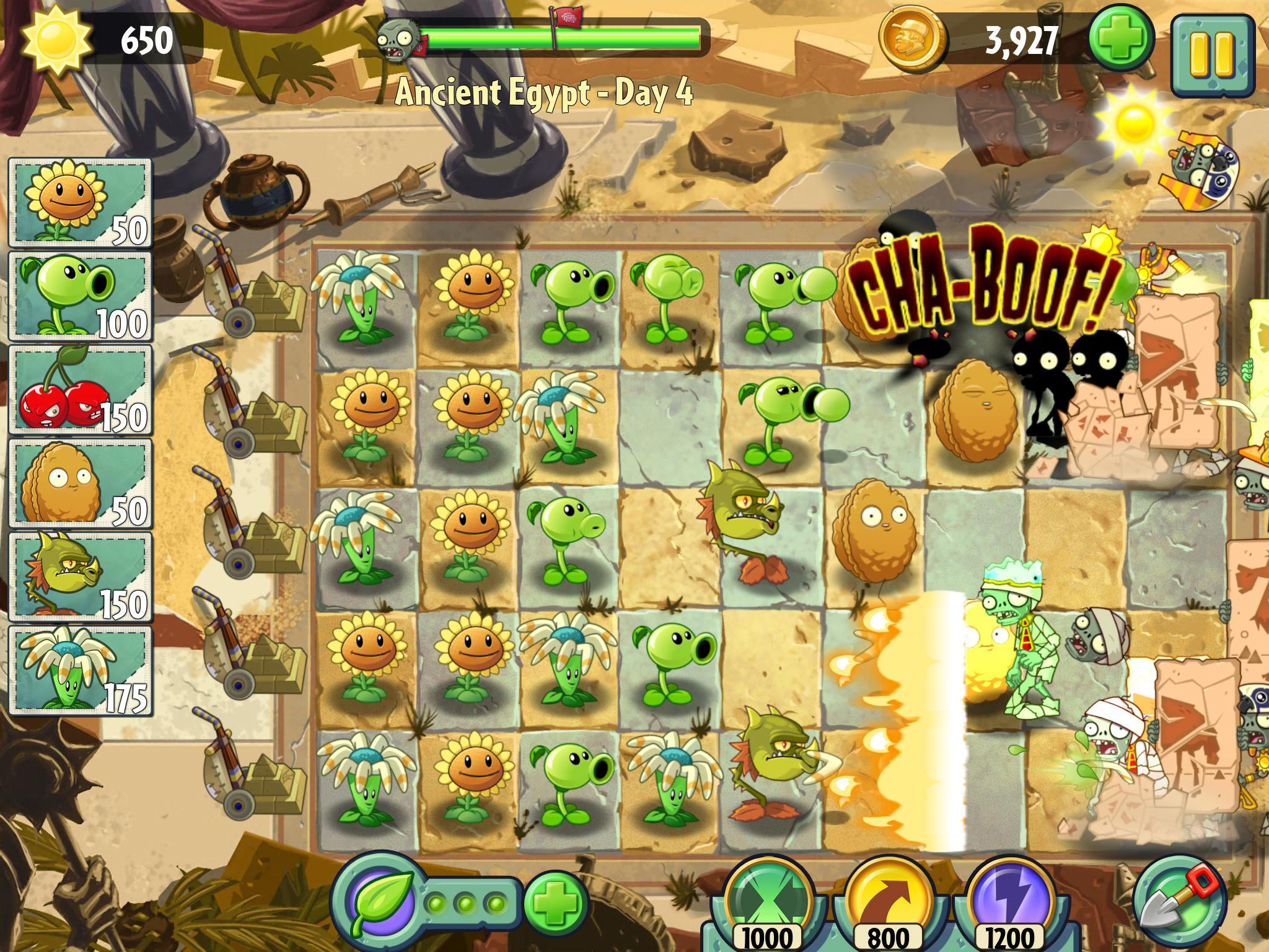 Review Plants Vs Zombies 2 The Independent