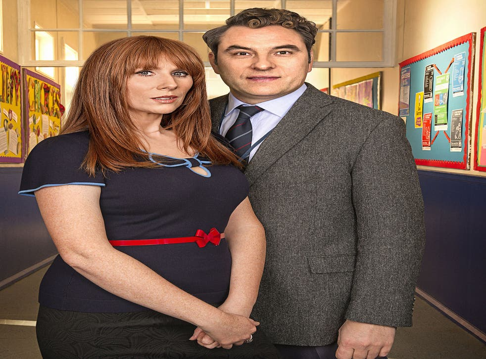 Catherine Tate and David Walliams bond in Big School