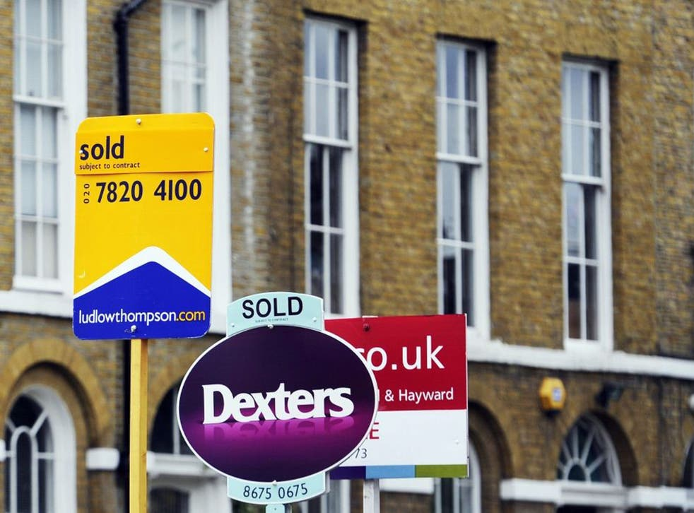 Signs of the times: renewed activity in the housing market is held as a cause of celebration, but rising prices just mean your next home will cost more