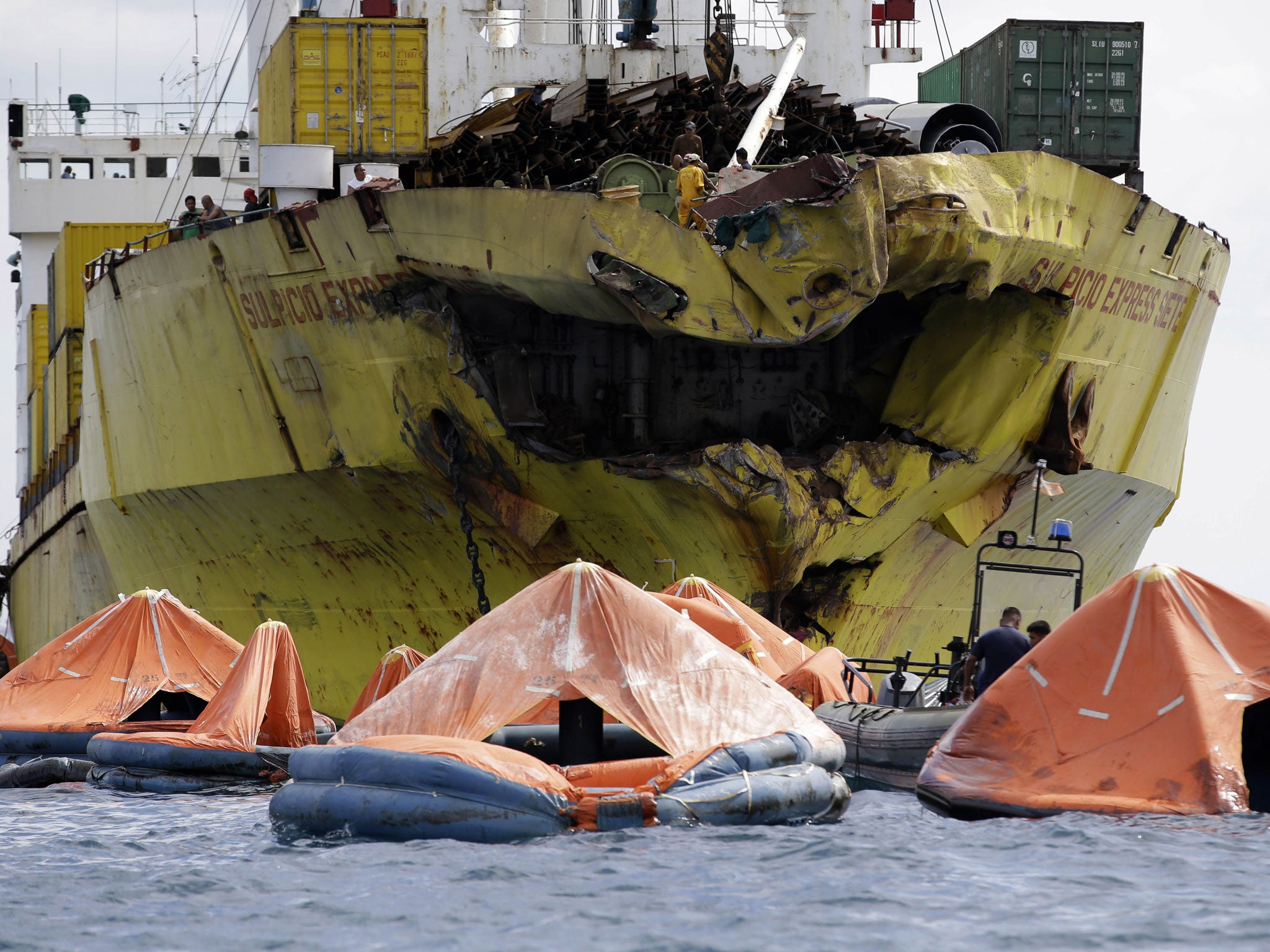 1 what were the reasons for the sinking of the vessels