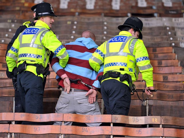 Football fans accuse police of using the orders to meet targets