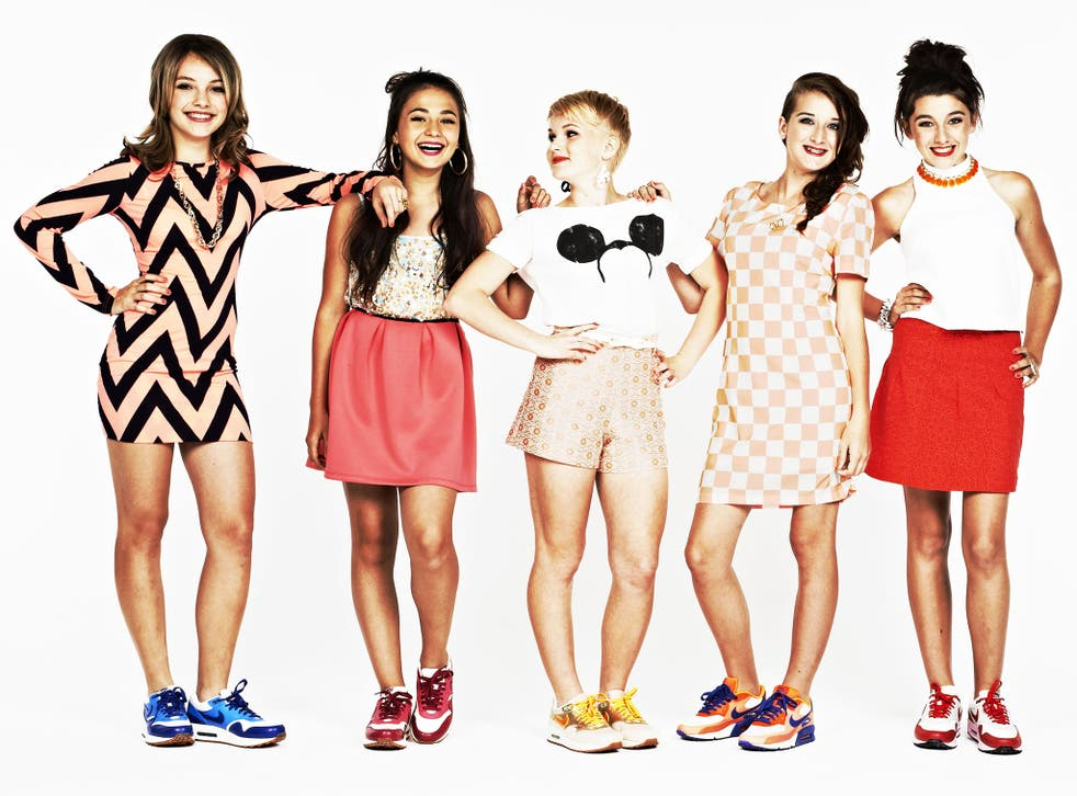 Teen group 5Angels have a growing army of fans, known as 'cherubs'