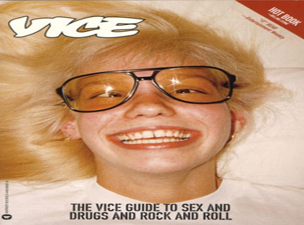 A copy of vice magazine