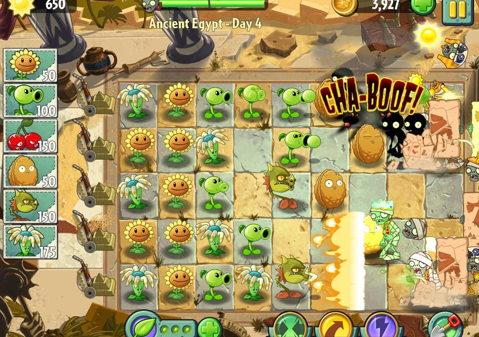 Review: Plants Vs Zombies 2 | The Independent
