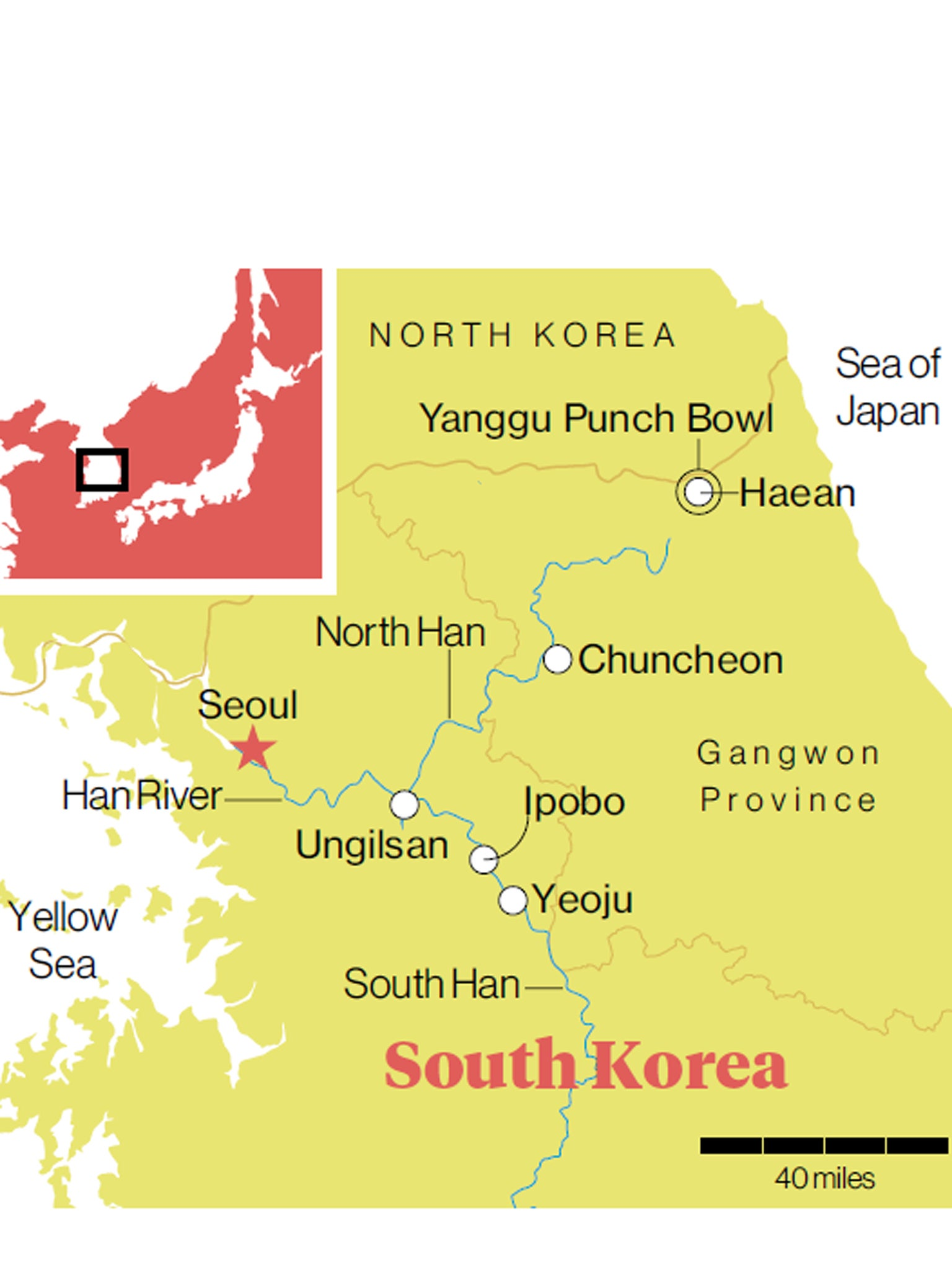Go with the flow on a South Korean cycle | The Independent