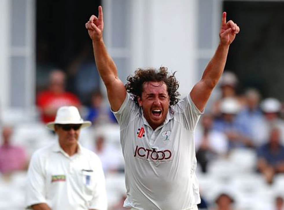 Ryan Sidebottom took four wickets against his former county