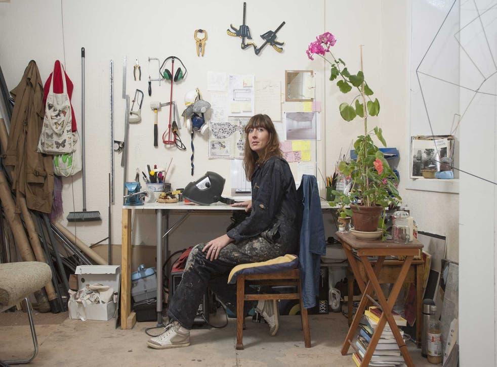 Plant life: Sara Barker in her Glasgow studio