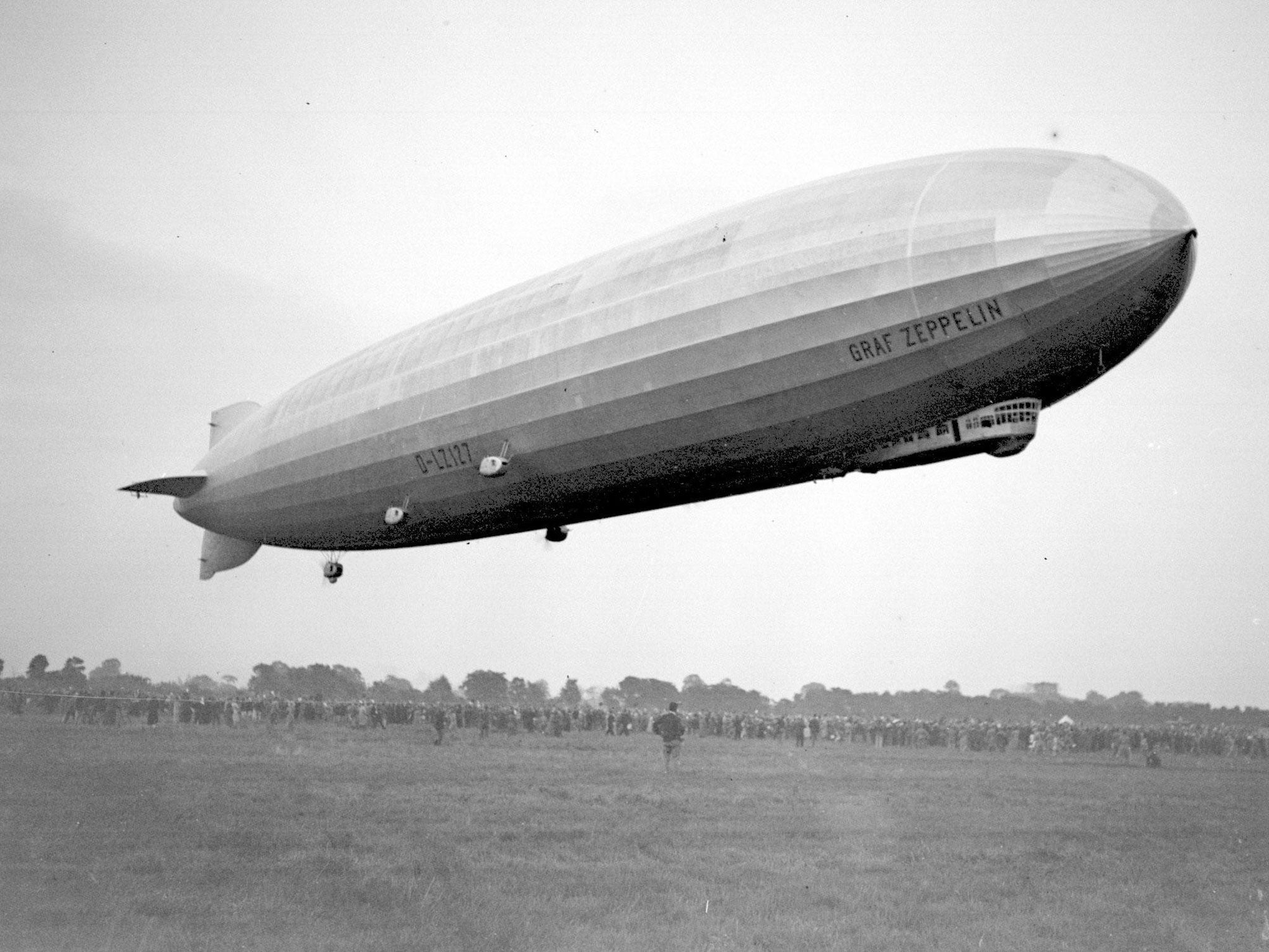Q: How many cows does it take to build a Zeppelin? A: 250,000