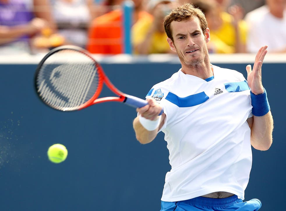 Andy Murray defends his US Open title next week fuelled by a balanced diet with energy drinks and workouts