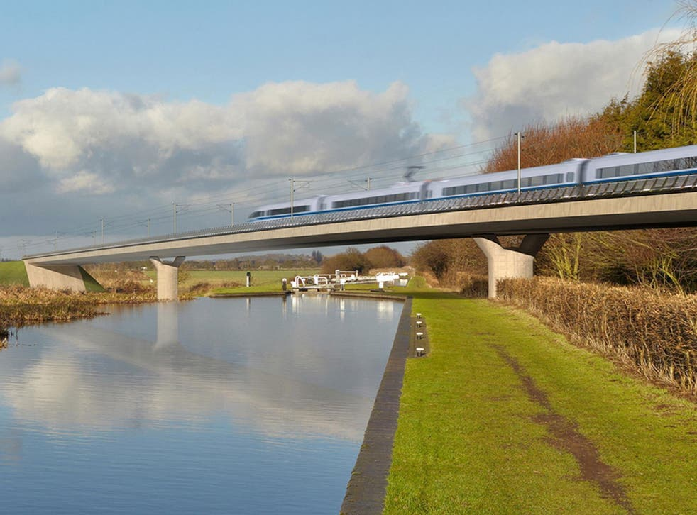 The estimated cost of the HS2 rail link continues to rise
