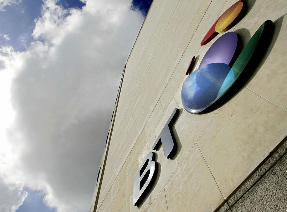 Six of Britain's largest financial services firms are examining their involvement with BT after accusations that it inadvertently aided American drone strikes in Yemen and Somalia