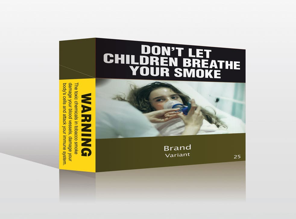 A proposed model of an unbranded cigarettes pack