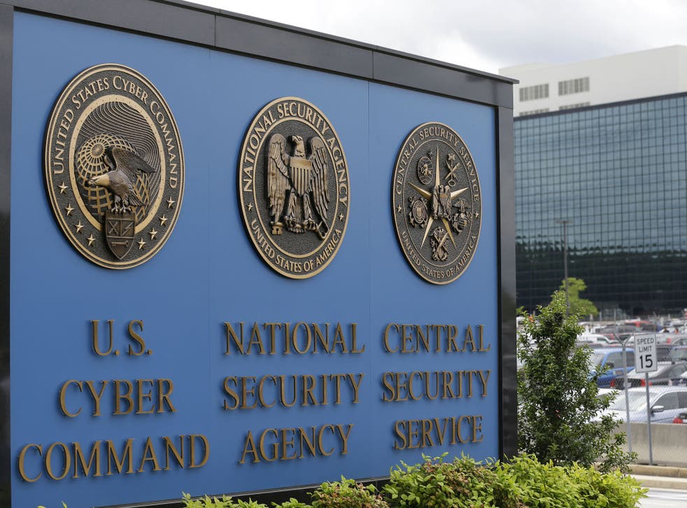 The NSA's offices in Fort Meade, Maryland in the US