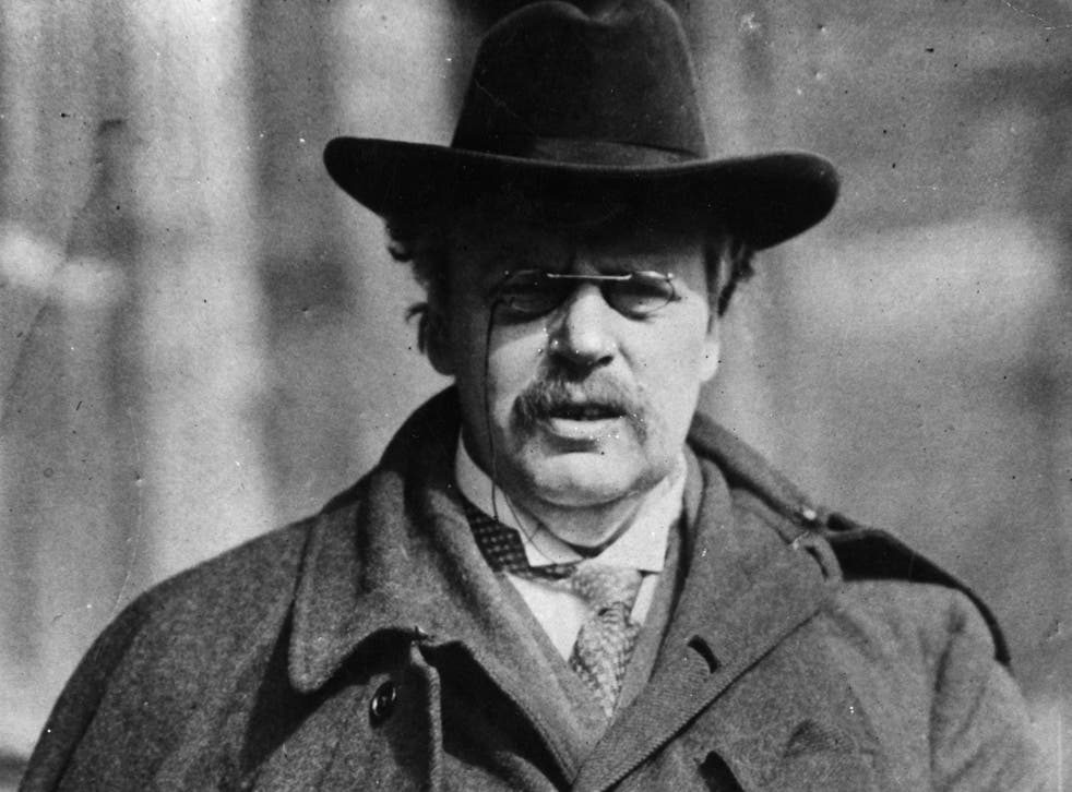 GK Chesterton: He converted to Catholicism in the 1920s and wrote several religious works
