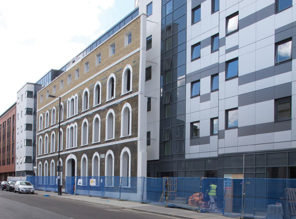 465 Caledonian Road, nominated for Building Design's 2013 Carbuncle Cup