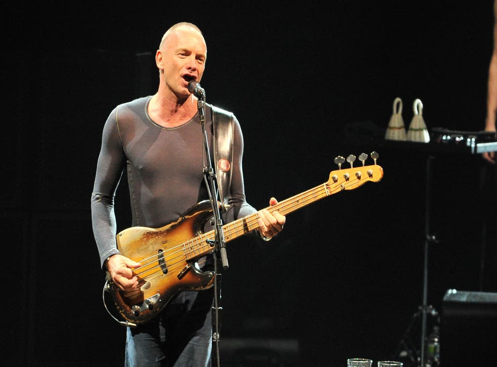Sting a song: The Police frontman has penned his first musical, The Last Ship