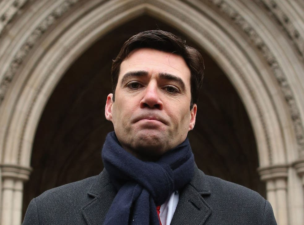 Andy Burnham: The shadow health minister wants to ban zero-hours contracts
