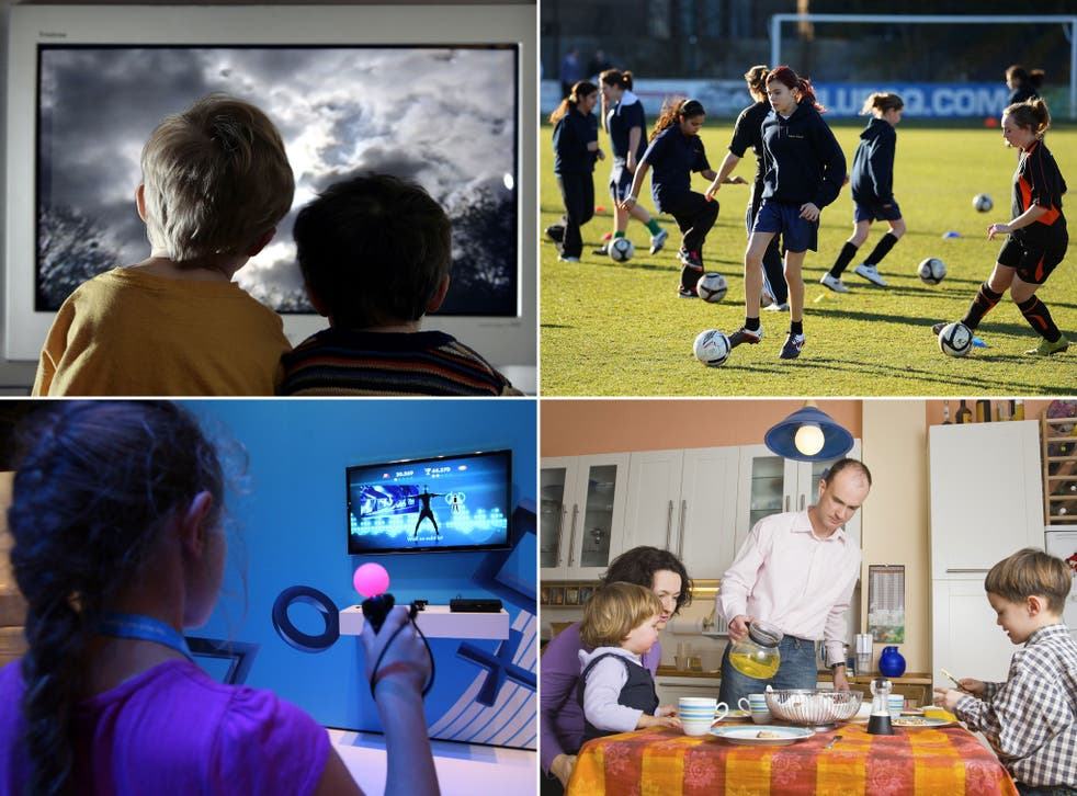 Increased TV viewing, physical activity, video games and diet are all factors that influence children's health