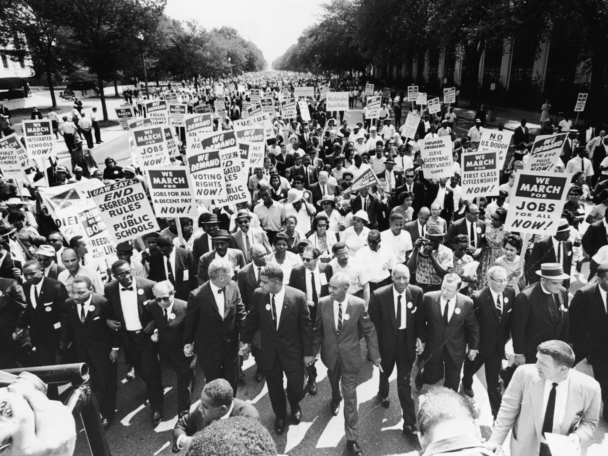 Martin Luther King's 'I Have a Dream' speech is the greatest oration