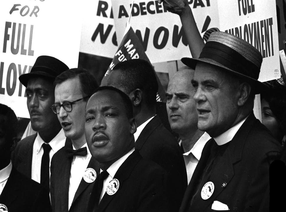 Martin Luther King and the March on Washington, BBC2