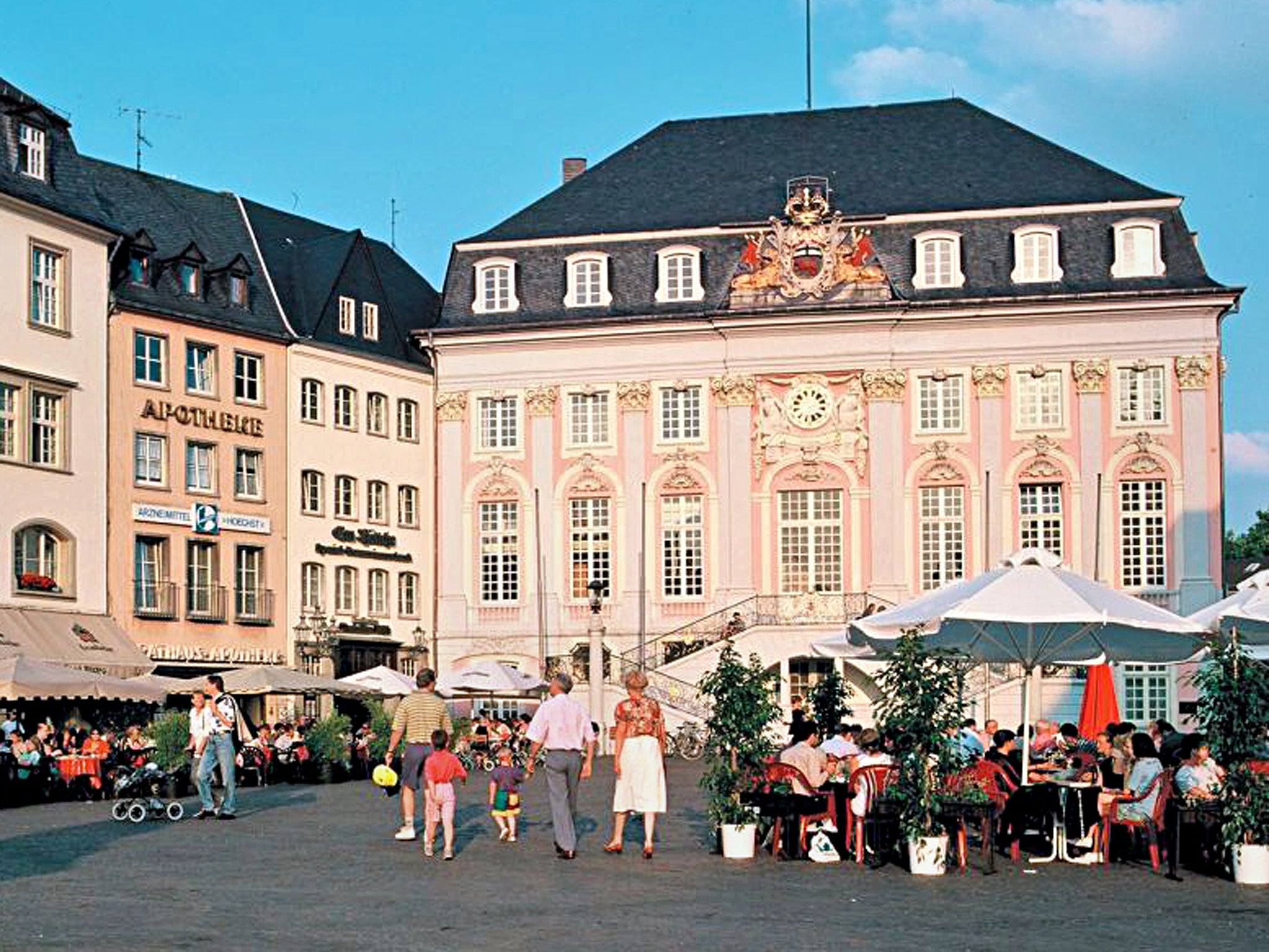48 Hours In Bonn The Independent