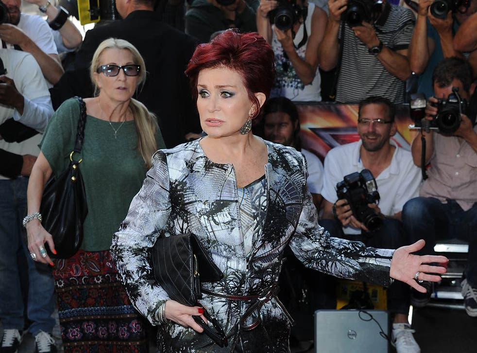 Sharon Osbourne has a message for photographers at the launch