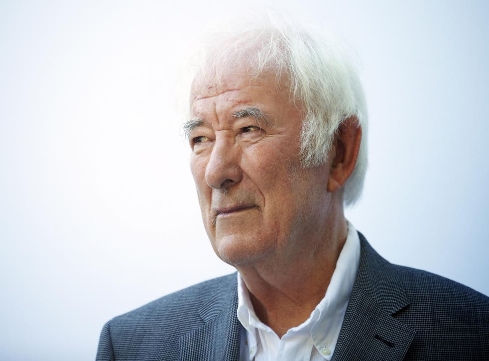 Seamus Heaney at the Edinburgh Festival 2012. The Irish poet has died aged 74.