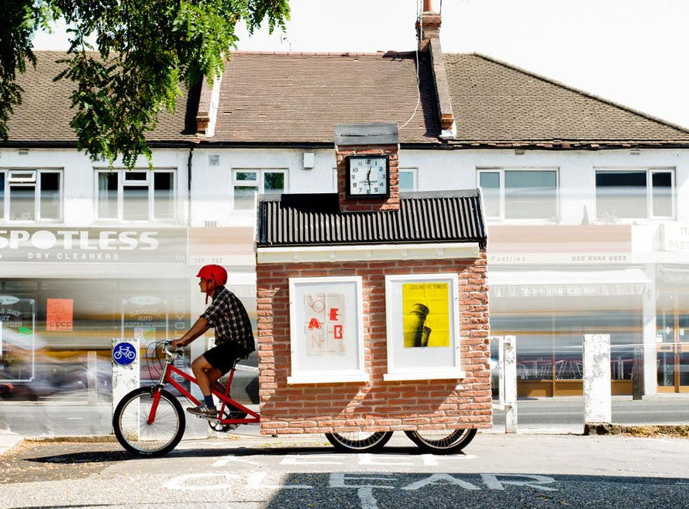 Cricklewood's mobile town  square will visit five unloved parts of the London suburb