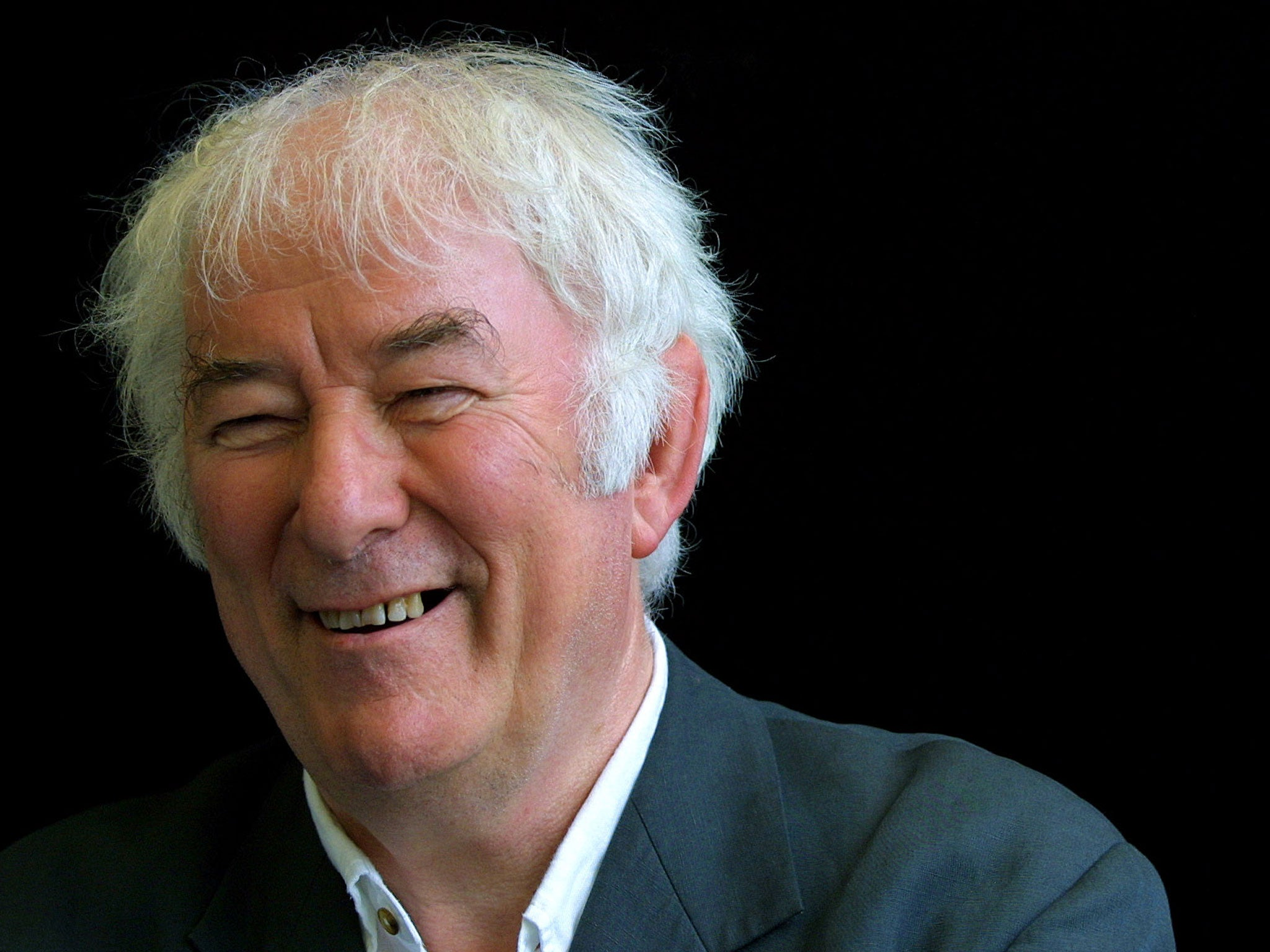 seamus heaney Back to top about the poet seamus heaney was born on april 13, 1939, on a farm in castledawson, county derry, northern ireland, the eldest of eight children.