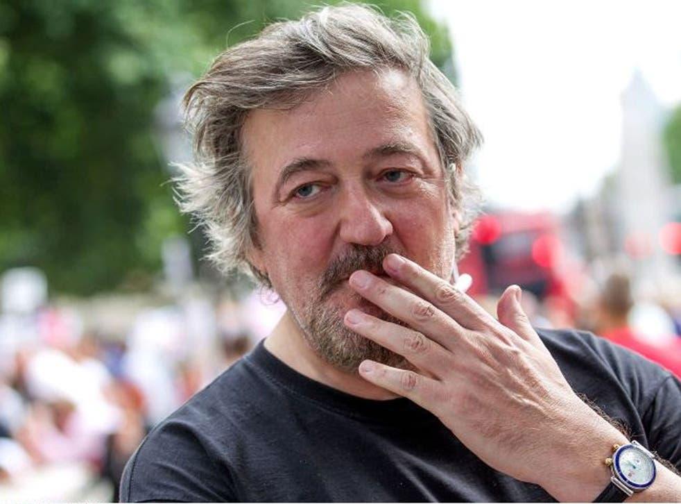 Fry: Angry at 'this topsy-turvy smothering of debate'