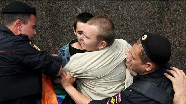 """Russia's antipathy towards homosexuality has been well established following the efforts of human rights campaigners. However, while it is legal to be homosexual, LGBT couples are offered no protections from discrimination. They are also actively discriminated against by a 2013 law criminalising LGBT """"propaganda"""" allowing the arrest of numerous Russian LGBT activists."""