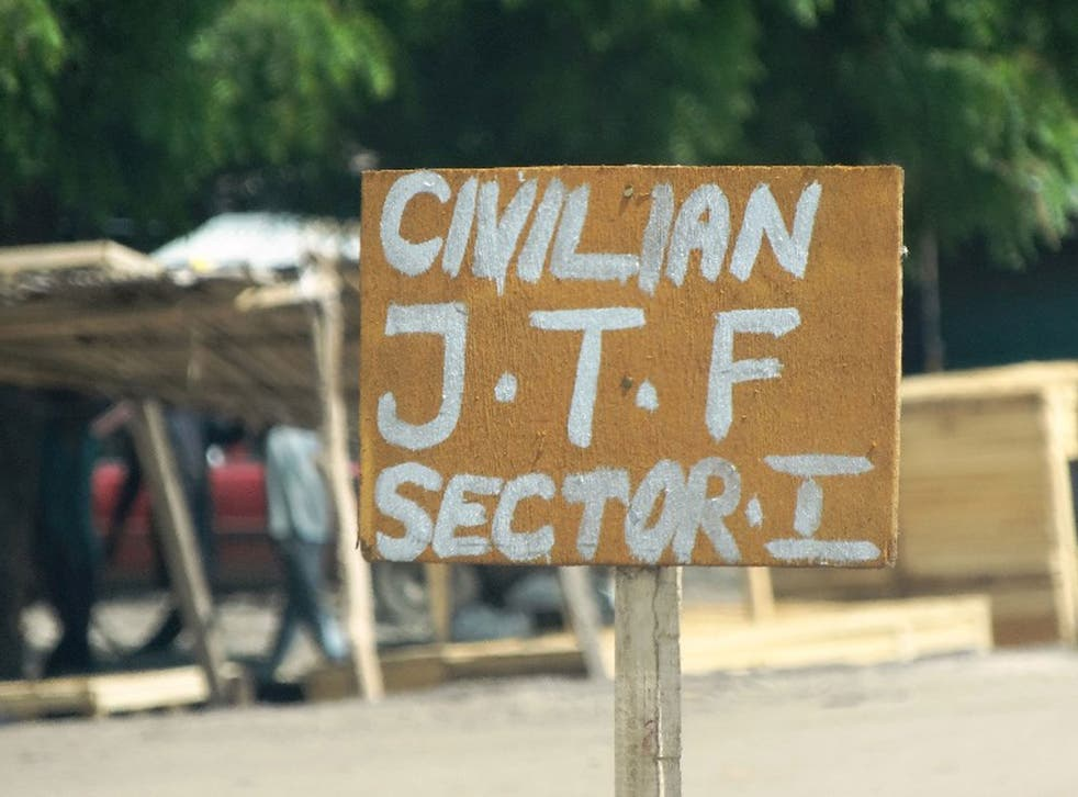 24 members of the Civilian JTF were killed
