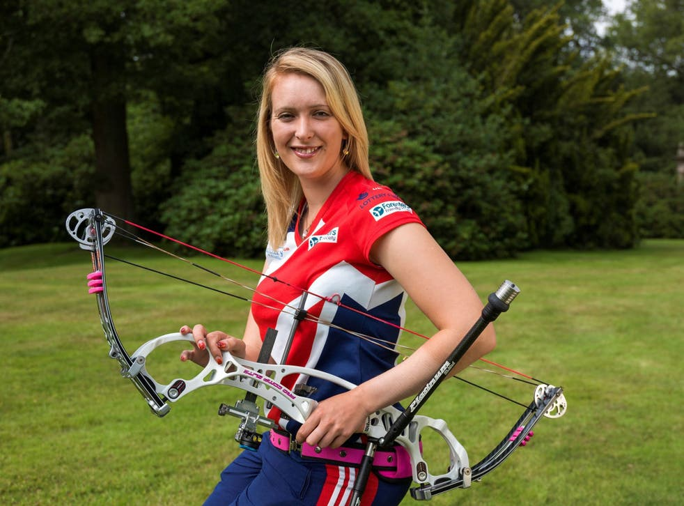 Paralympic gold medallist Danielle Brown has won a British championship in an able-bodied event