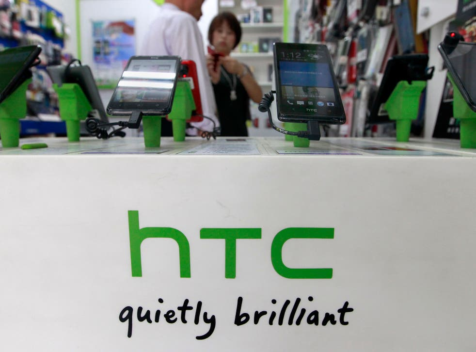 Taiwanese phone makers HTC have struggled to maintain their position at the high-end of the saturated smartphone market.