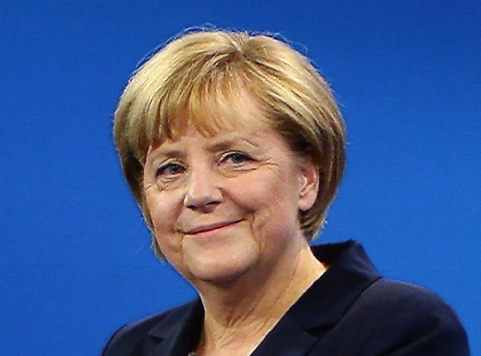 Angela Merkel had a 90-minute TV debate with the Social Democrat candidate for Chancellor, Peer Steinbrück