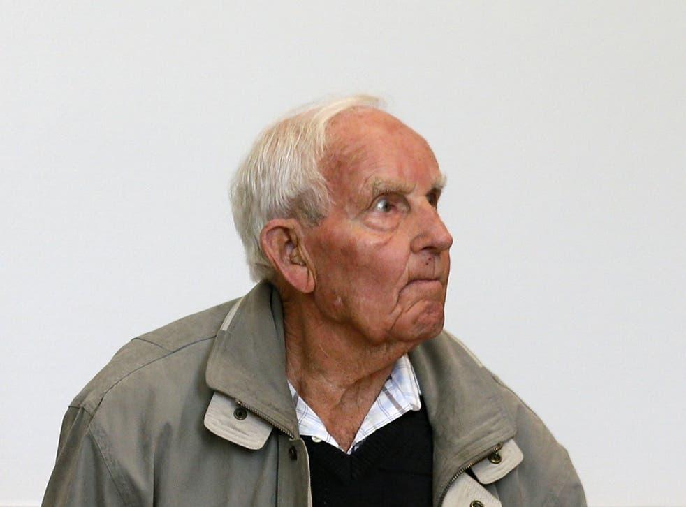 Suspected Nazi war criminal Siert Bruins