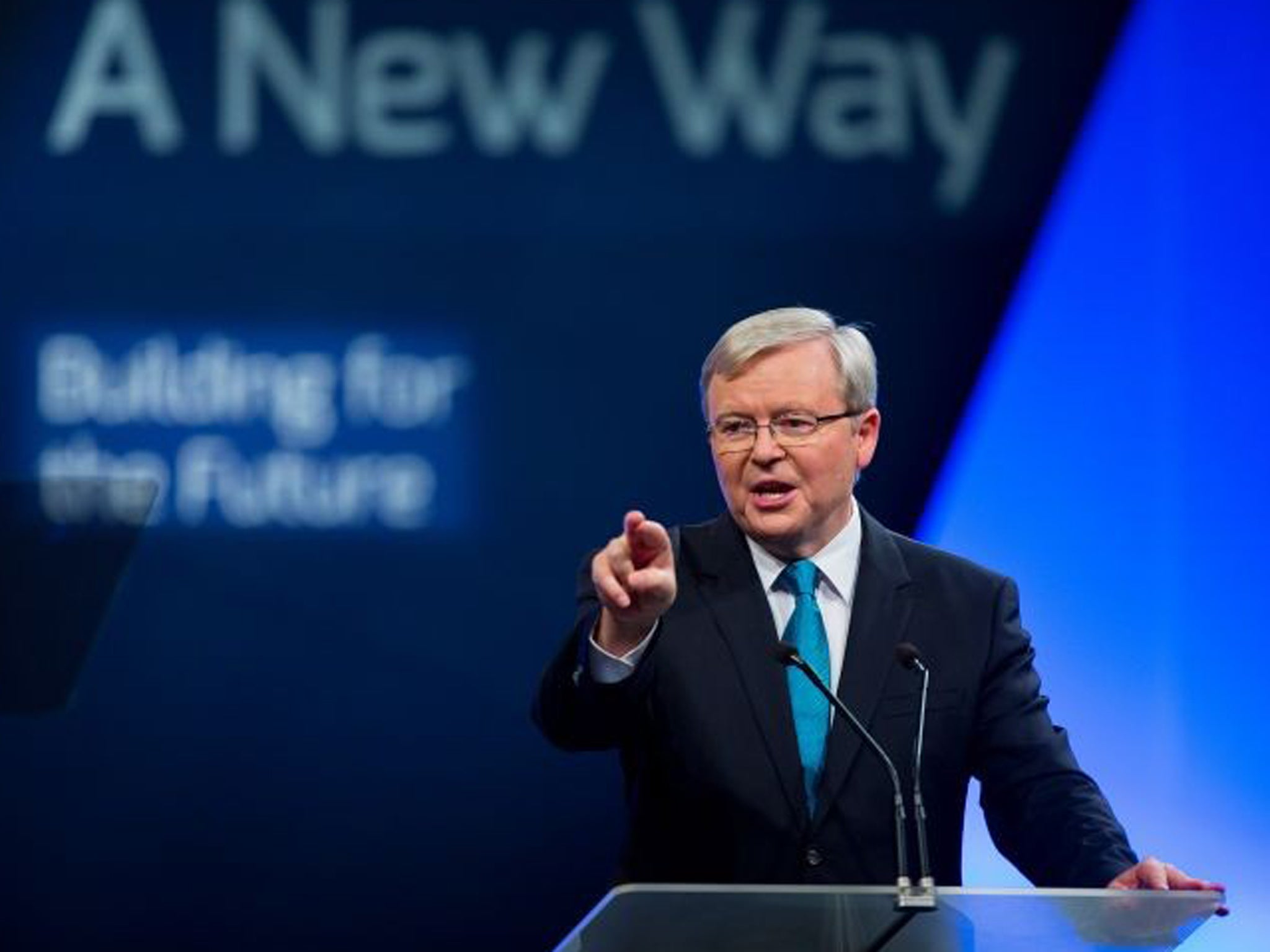 Australia Election Kevin Rudd Defends New Gay Marriage Stance The Independent The Independent