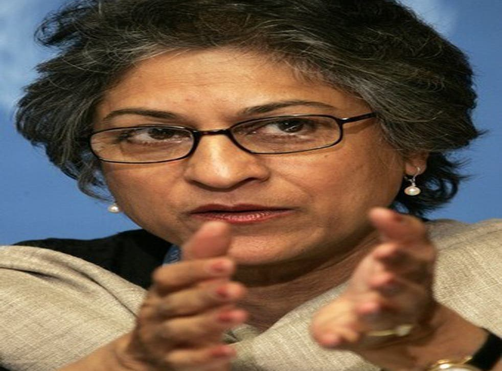 Asma Jahangir last year said that she had learned of a plot against her from 'a responsible and highly credible' source