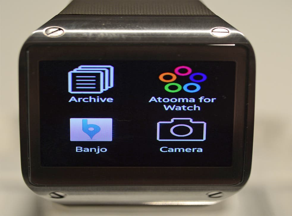 Samsung believes its Galaxy Gear watch will 'lead a new trend in smart mobile communications'