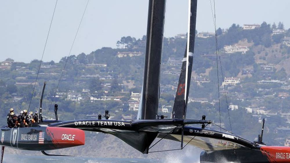 Ongekend The America's Cup: Gone with the wind | The Independent RZ-48