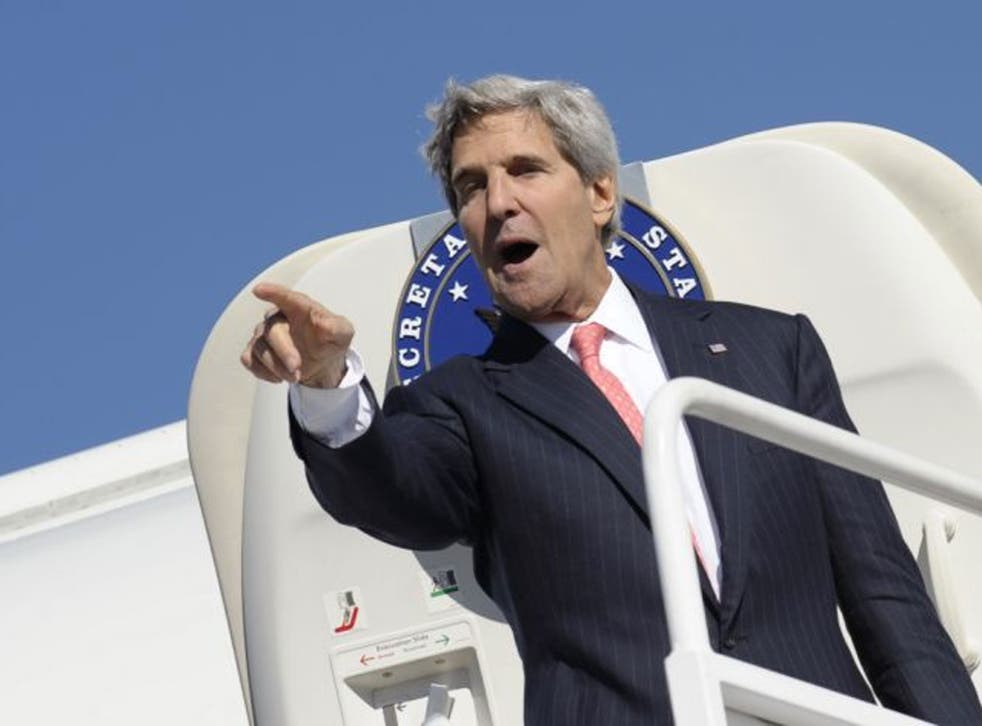 John Kerry: rallying support for Obama's hard line on Syria